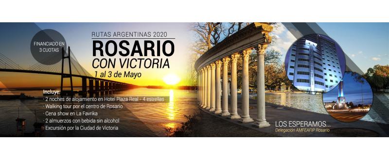 Salida a Rosario con Victoria