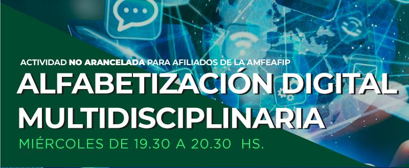 Curso de Alfabetización Digital Multidisciplinaria 2021