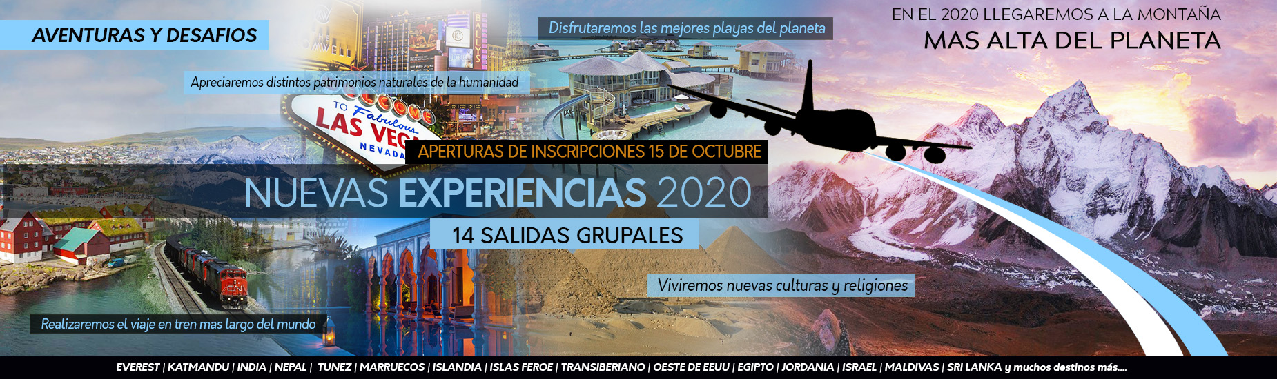 Viajes al exterior 2020