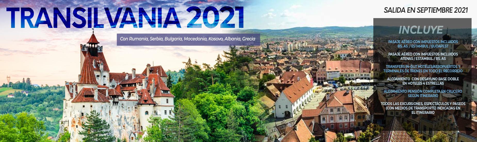Viajes 2021 - TRANSILVANIA